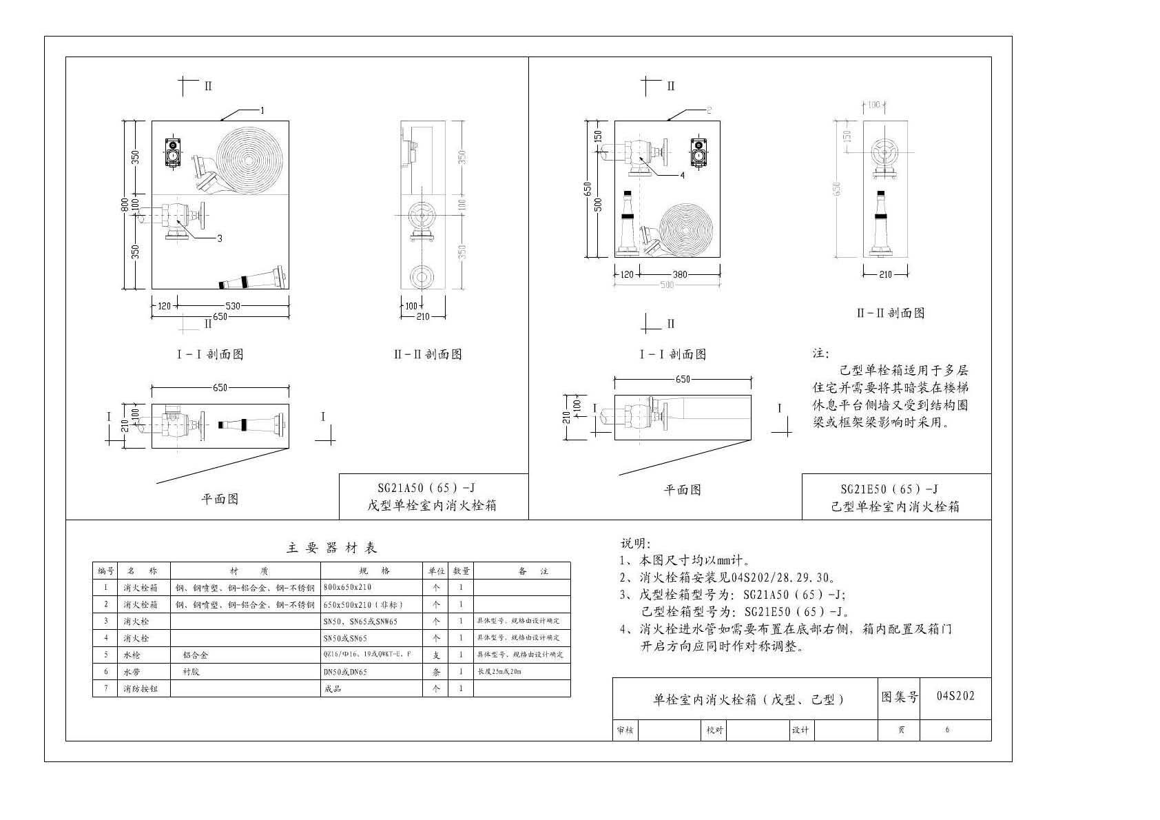消火栓图集04s202_04s202室内消火栓安装图集