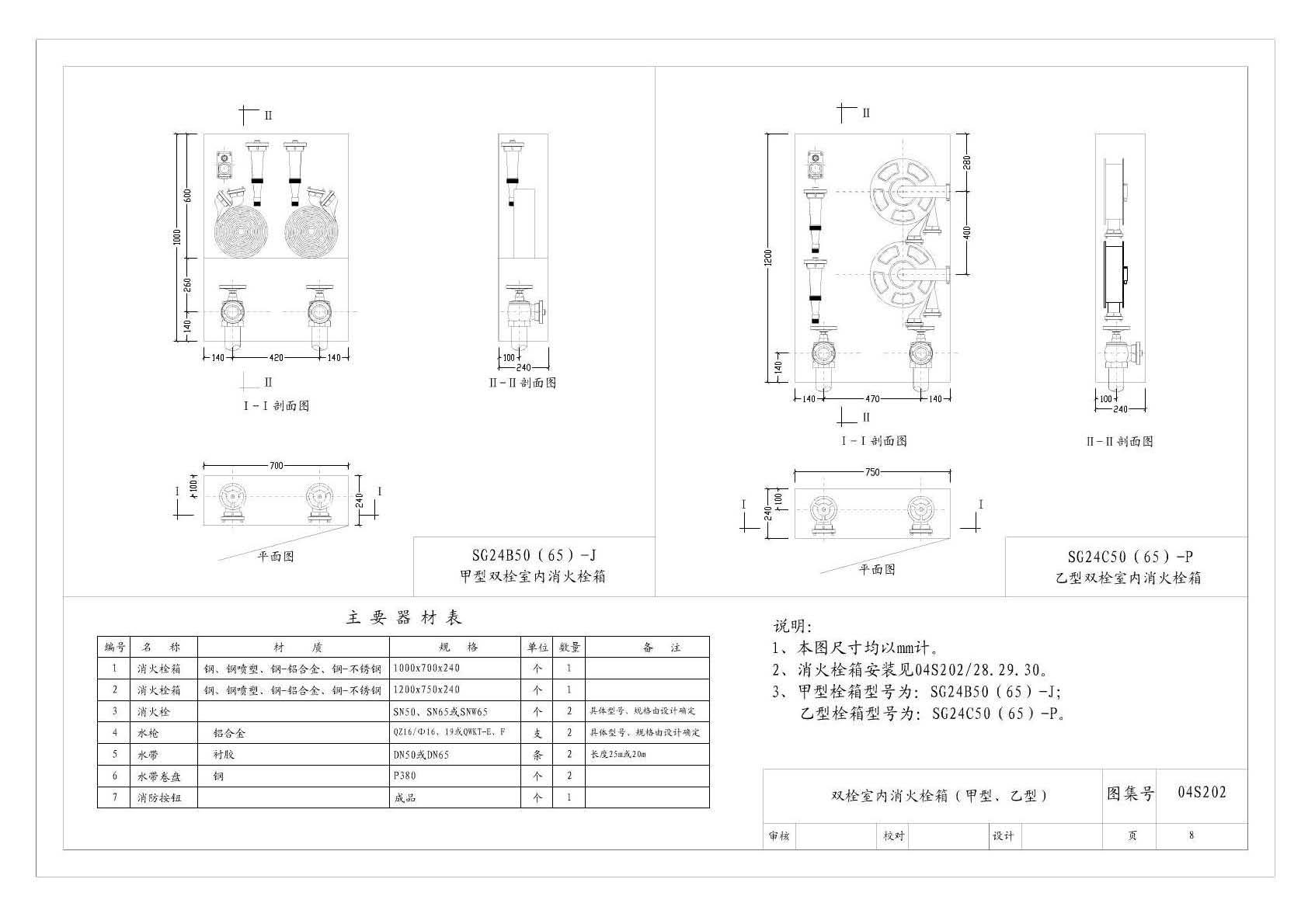 消火栓图集04s202_04S202室内消火栓安装图集pdf格式免费版下载