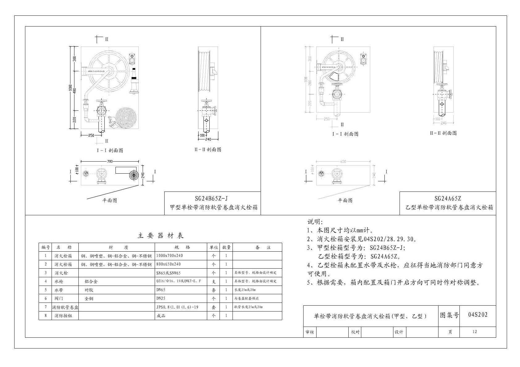 消火栓图集04s202_室内消火栓安装